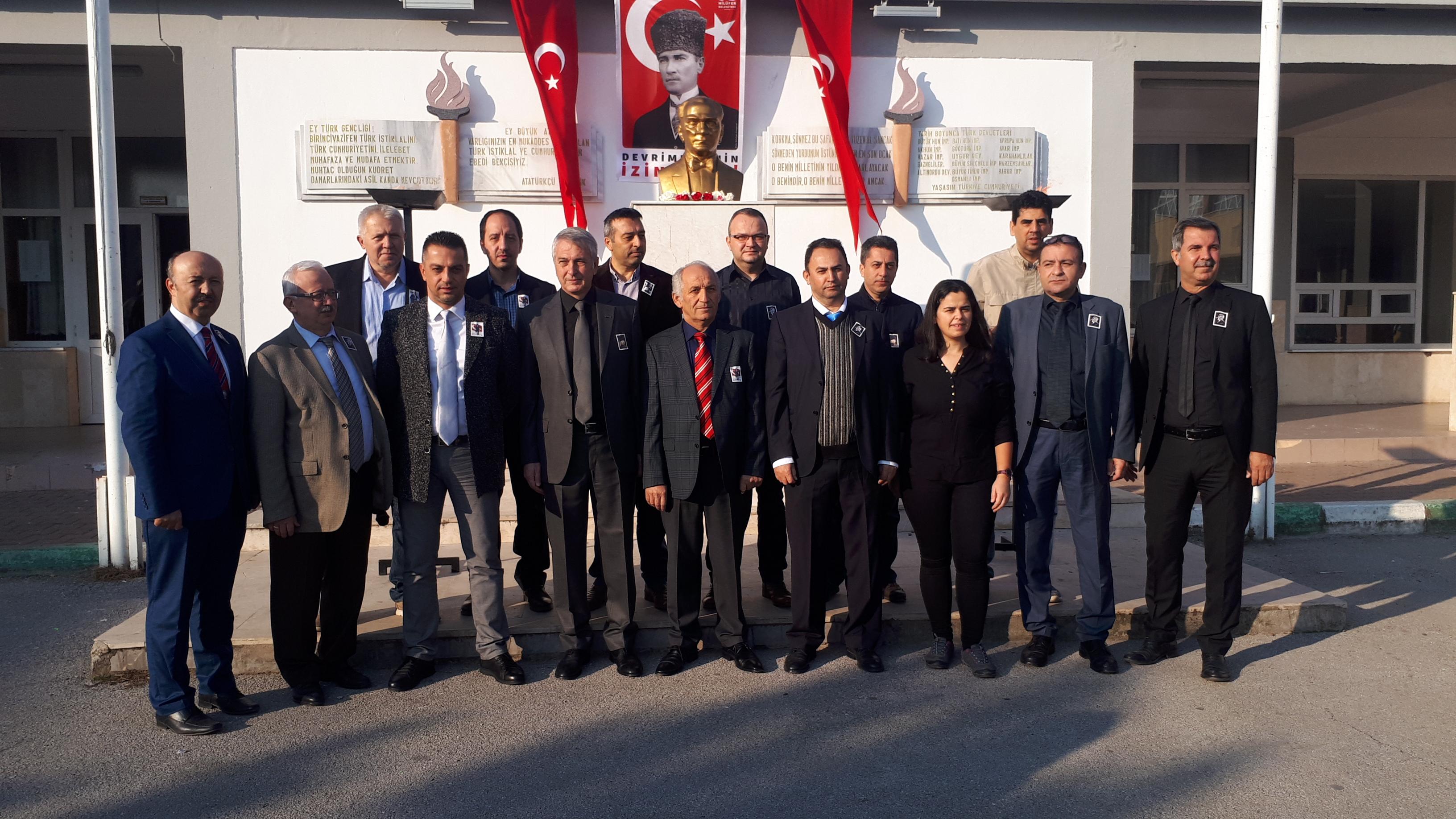 10 Kasım,Gazi Mustafa KemalAtatürk'ü 80. ölüm yıl dönümünde okulumuzda yapılan program ile saygı ve rahmetle andık. …