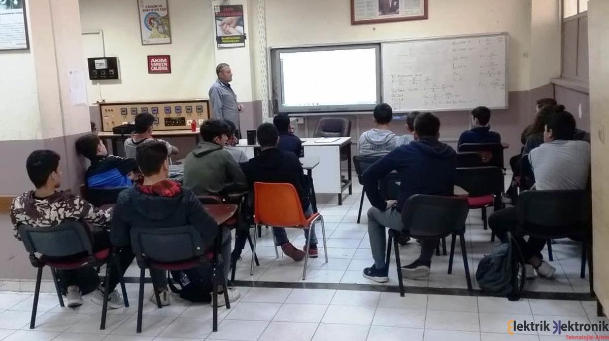 AMP 10/A ve İMEM 9/A sınıfı öğrencilerine, C Sınıfı İSG uzmanı alan öğretmenimiz Tezcan YILMAZ tarafından İş Sağlığı ve Güvenliği eğitimi verildi. …